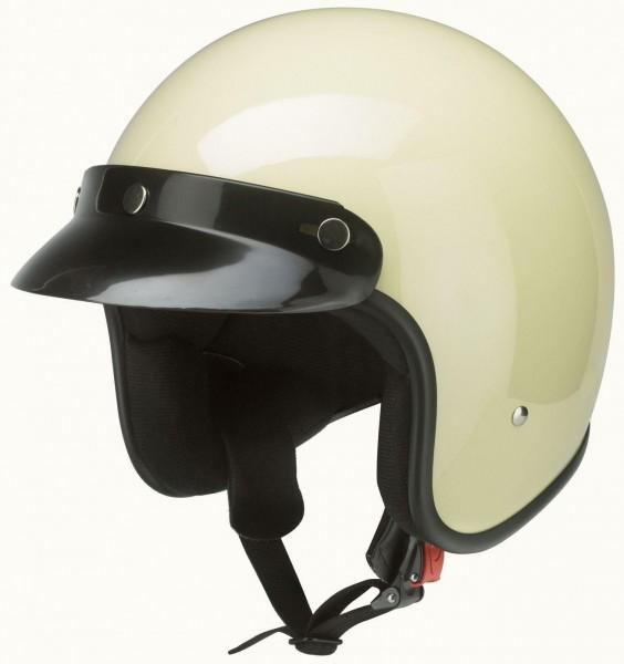 Jet-Helm Classic creme-weiß