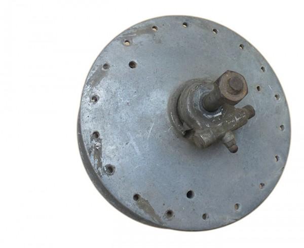 Vorderradnabe Quickly F23, gebraucht mit Bremsplatte