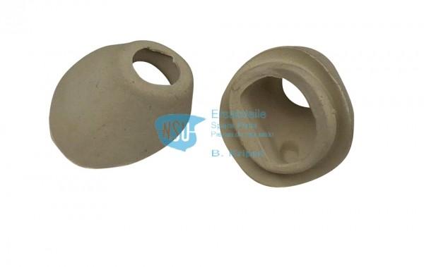 Gummiabschluss f. Lenker TT (Paar)