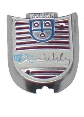 Wappenschild f. Kotflügel T,TT,TT/K