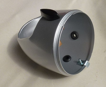 Scheinwerfergehäuse neu, mit Anbauteilen