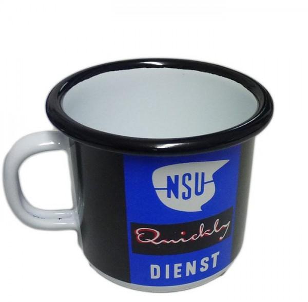 NSU-Quickly Tasse, emailliert