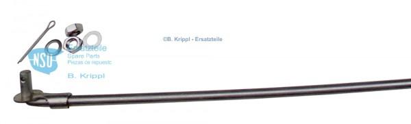 Bremsgestänge für Quickly TT, Länge 490 mm